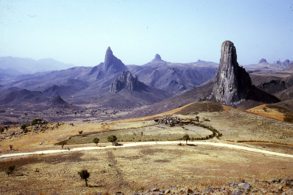 The volcanic plugs of Rhumsiki