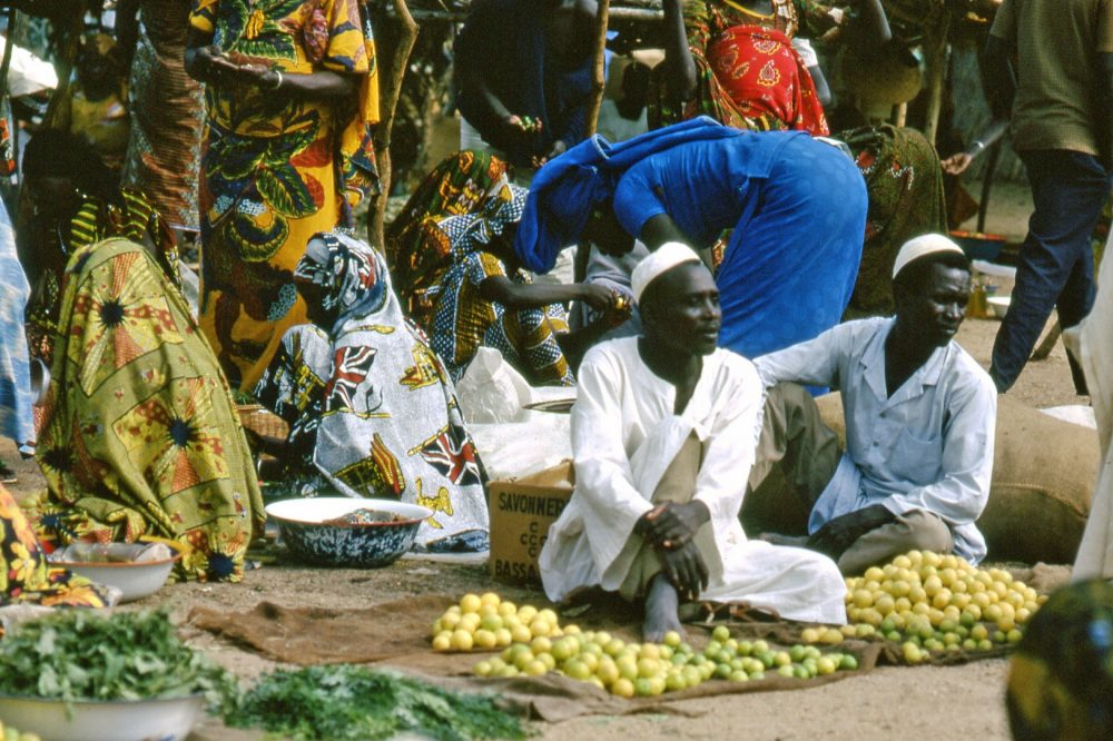 Market scene in northern Cameroon